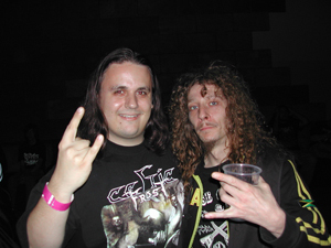 Alexander K from Descent Into Madness and Mike Sifringer from Destruction