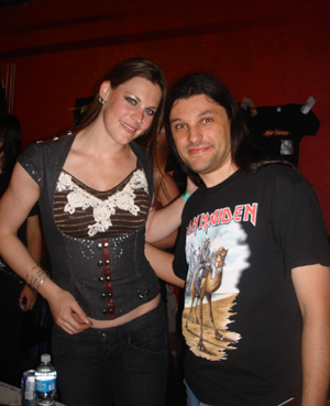 Floor Janser (After Forever with Descent Into Madness guitarist Claudio Lasalla