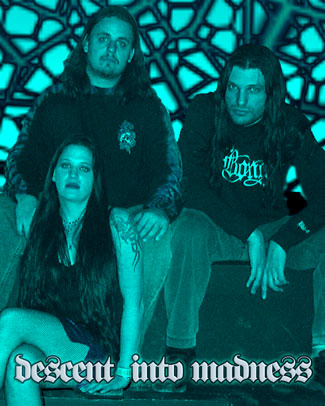 Jennifer and Claudio from Descent Into Madness with fan